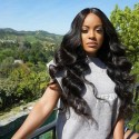 Jada Cheap Natural Remy Peruvian Body Wave Hair 3 Bundles with Lace Frontal