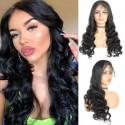 Jada Beauty Malaysian Loose Wave Lace Closure Wigs Factory Price Virgin Hair