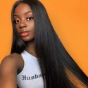 Jada Hair Wholesale Discount Peruvian Remy Lace Front Straight Hair