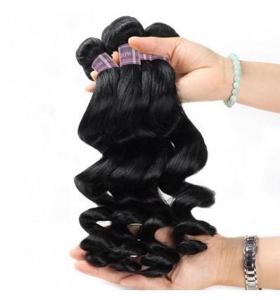 Jada Hair Wholesale Malaysian Loose Wave Virgin Hair 4PC Bundle Deals
