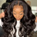 Jada Hair Wig Outlet Body Wave Remy Human Hair with 4x4 Lace Closure Wig