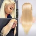 Jada Hot Sale Blonde 613 Straight Peruvian Human Hair Wigs for Summer