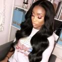 Jada High Grade Brazilian Virgin Hair Body Wave Weaves with Lace Closure