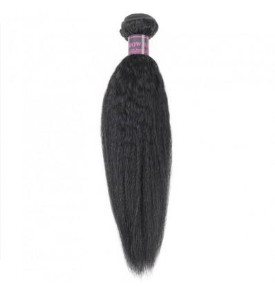 Jada Virgin Human Special Yaki Straight Hair Weave Bundles for Extension