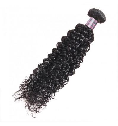 Jada DIY Sample Hair Extension Bundle Weave Curly Human Black Hair