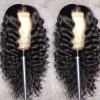 Jada Cheap Loose Deep Wave Human Kinky Curly Hair with Lace Frontal