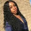 Jada Affordable Remy Indian Human Hair Deep Curly Lace Front Wig
