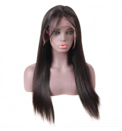 Jada Soft Remy Virgin Malaysian Human Hair Lace Front Wig Straight