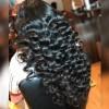 Jada Lace Front Indian Virgin Human Hair Loose Deep Wavy Wigs