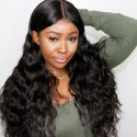 Jada Realistic Full Lace Frontal Body Wave Brazilian Virgin Hair Wigs