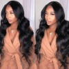Jada Body Wave Virgin Malaysian Human Hair Wigs with Full Lace Front