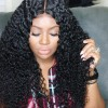 Jada Malaysian Virgin Hair 3 Bundles Curly Hairstyle with Lace Frontal